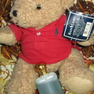 VINTAGE RALPH LAUREN  POLO JOINTED BEAR  4 CANCER
